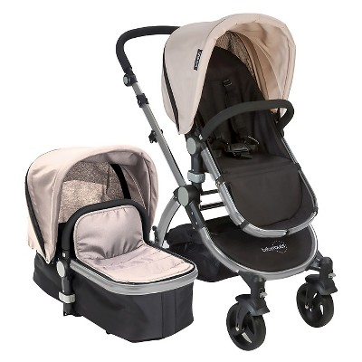 Babyroues Le tour II Bassinet & Stroller Silver/Black