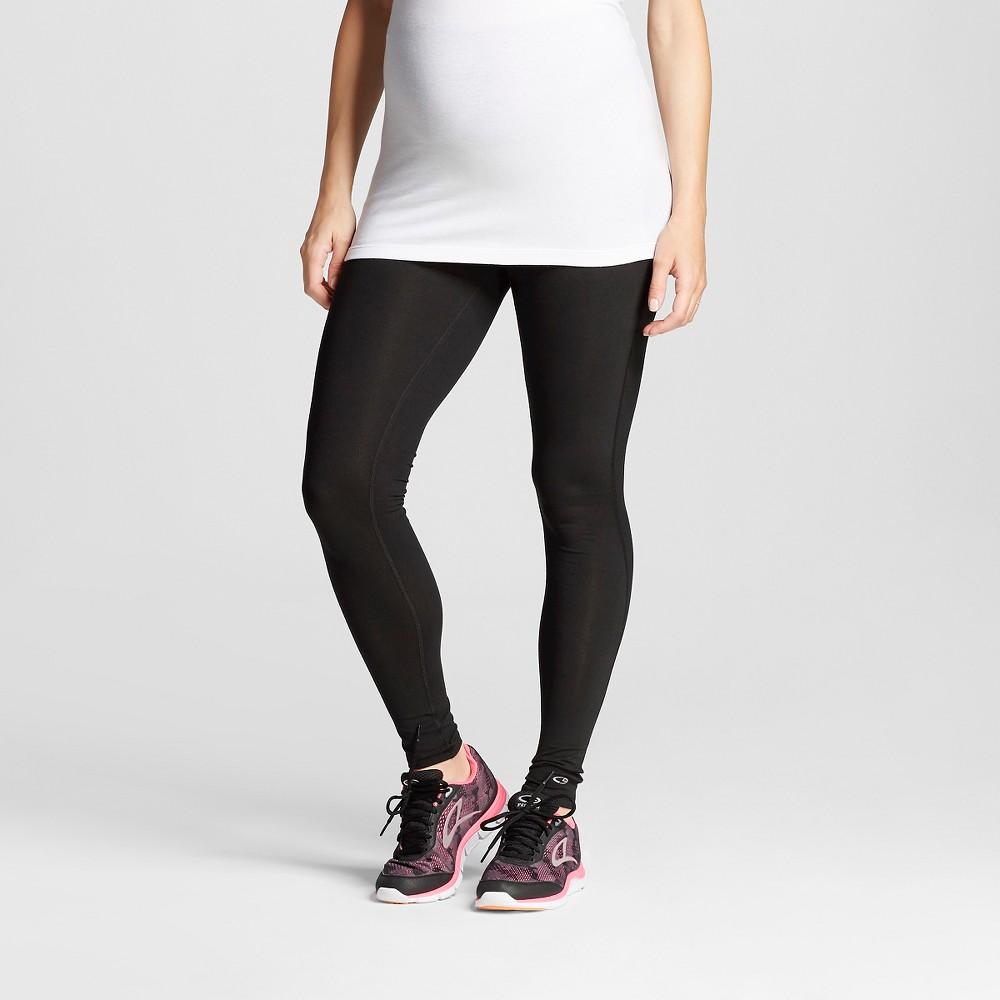 Womens Maternity Over the Belly Freedom Yoga Leggings - C9 Champion Black L