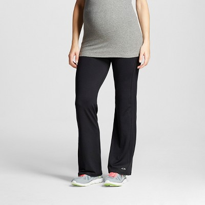 Maternity Over the Belly Performance Yoga Pants - C9 Champion® Black M