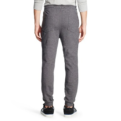 Men's Knit Jogger Pants Charcoal - Mossimo Supply Co. M, Gray