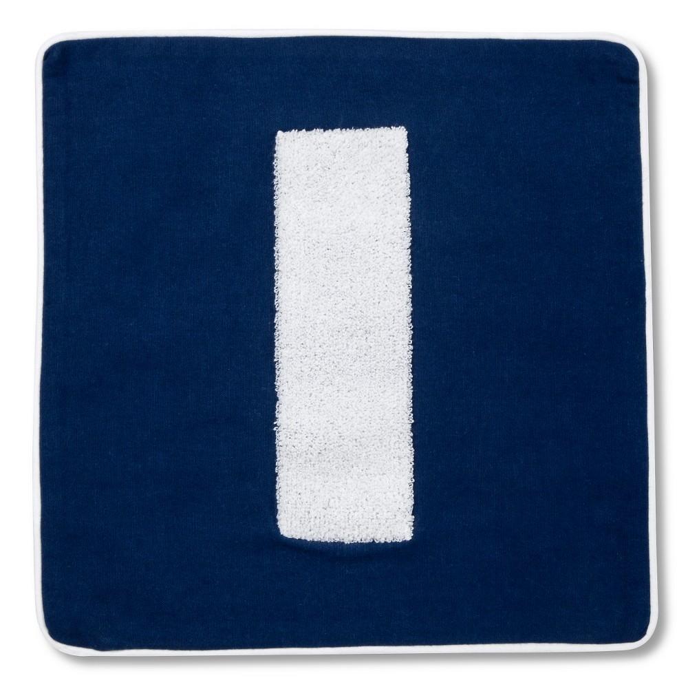 """Varsity Monogram Pillow Cover - 16""""""""x16"""""""" - Letter I - Pillowfort"""