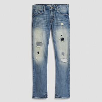 Mossimo Supply Mens Slim Straight Jeans