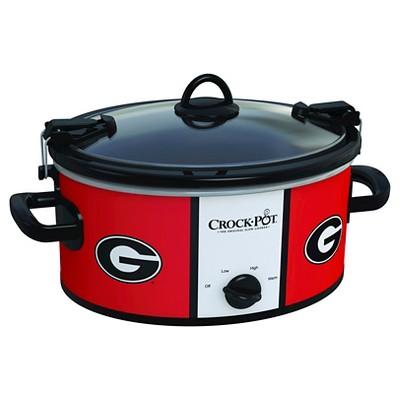 Georgia Bulldogs NCAA Crock-Pot® Cook & Carry™ Slow Cooker, SCCPNCAA600-UGA