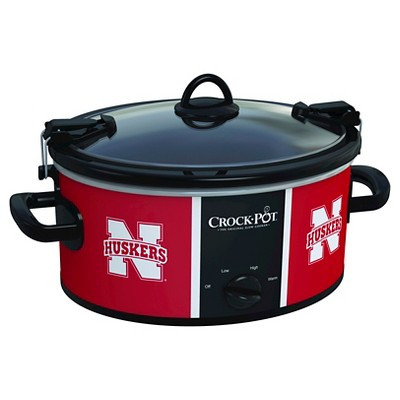 Nebraska Cornhuskers NCAA Crock-Pot® Cook & Carry™ Slow Cooker, SCCPNCAA600-UNB