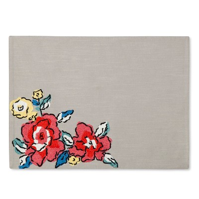 CreamFloral Placemat - Threshold™