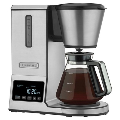 Cuisinart 8 Cup Pour Over Coffee Brewer Coffee Maker - Stainless Steel CPO-800 : Target