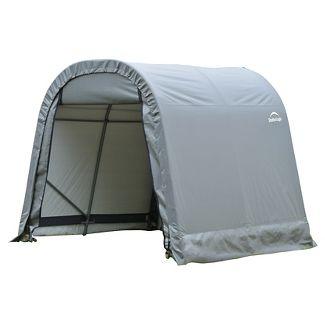 8 X 8 X 8 Round Style Shelter - Gray - Shelterlogic