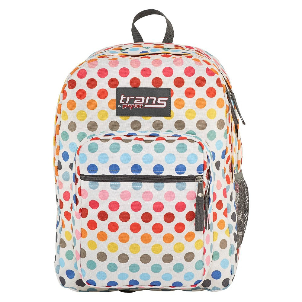 Trans By JanSport 17 SuperMax Backpack - Rainbow Dot