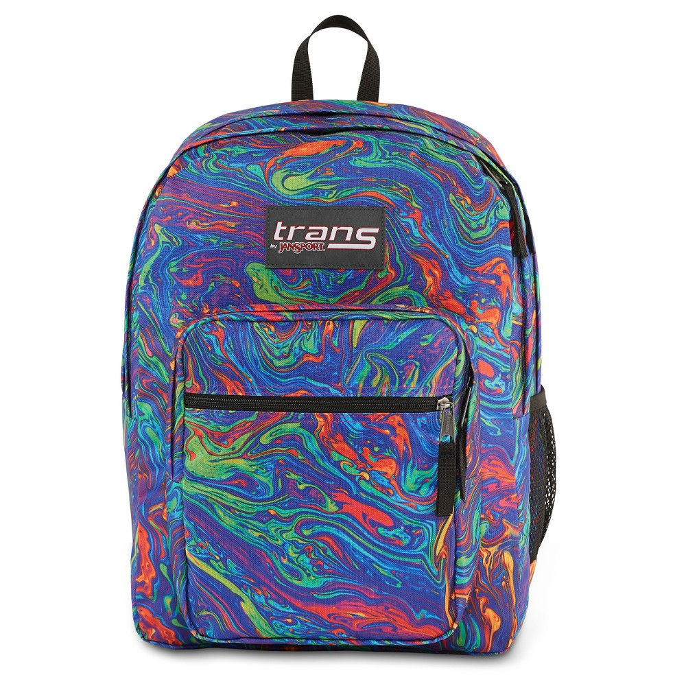 Trans By JanSport 17 SuperMax Backpack - Acid Swirl
