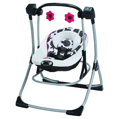 Graco® Cozy Duet Swing - Azalea