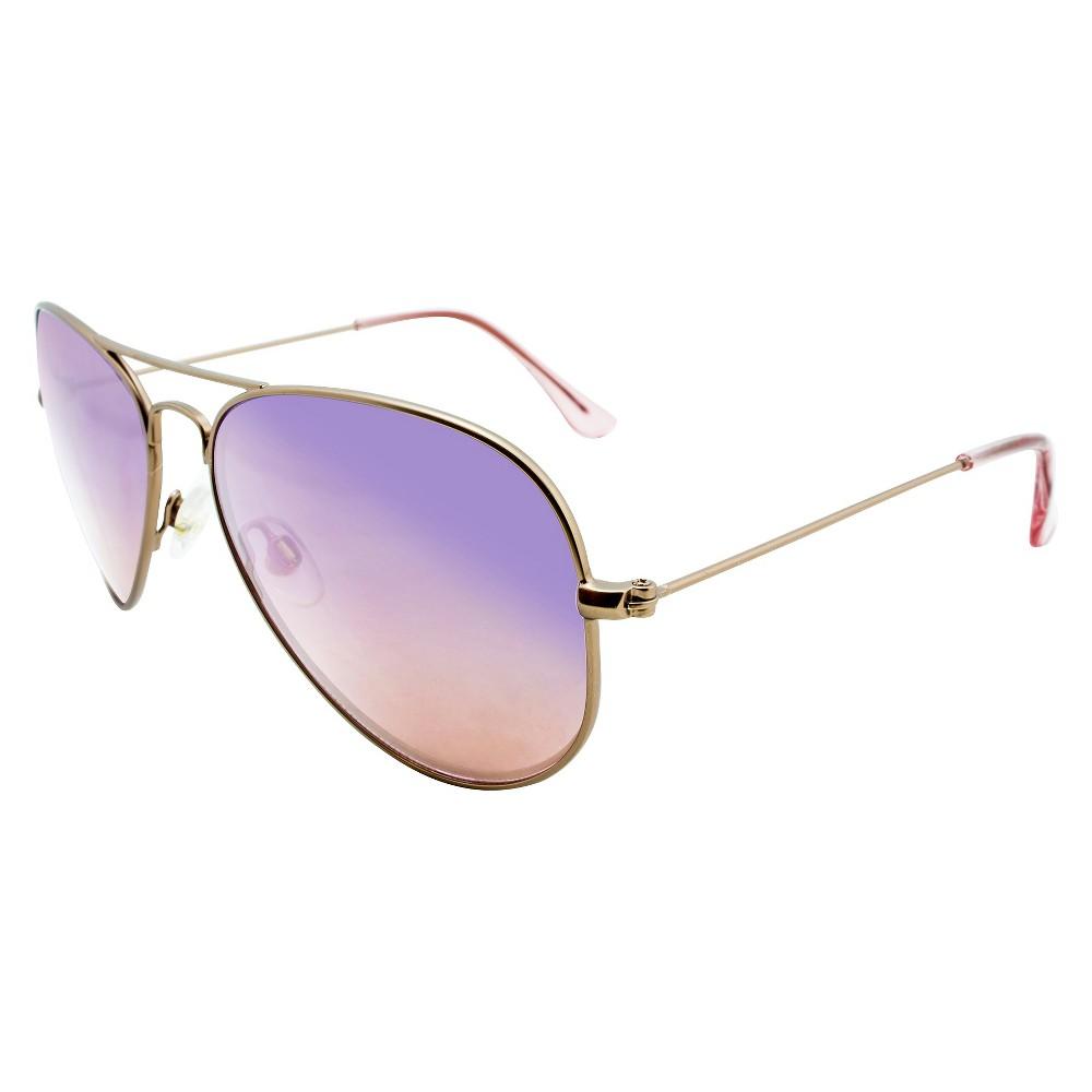 Aviator Sunglasses - Brown, Womens