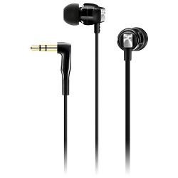 Sennheiser In-Ear Universal Headphones with Storage Case - Black