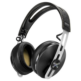Sennheiser Momentum 2 Around-Ear Bluetooth Headset with Noise Cancelling and NFC - Black