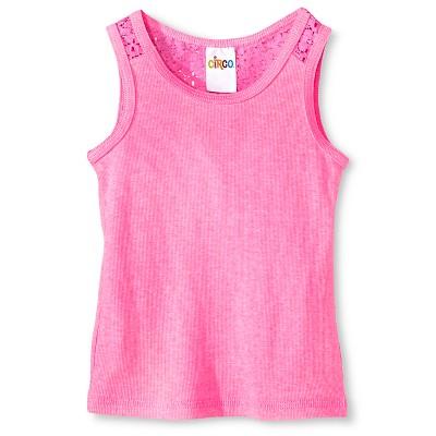 Baby Girls' Sleeveless Tank Top Pink 18M - Circo™