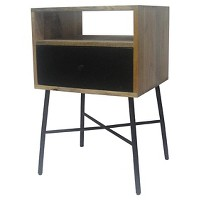 Threshold One Drawer Side Table