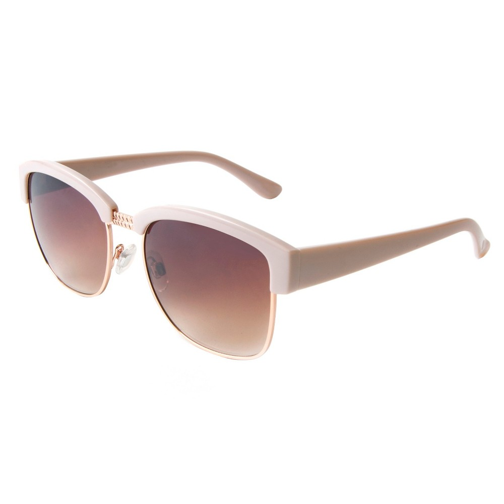 Womens Retro Sunglasses- Pink