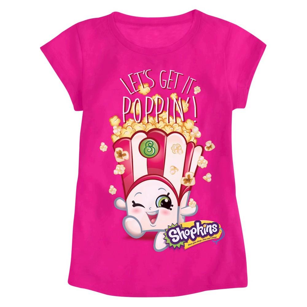 Girls' Shopkins Tee – Pink M, Girl's, Purple