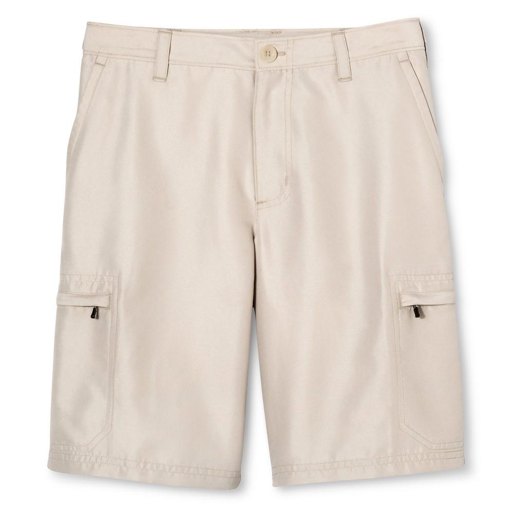 Boys Golf Cargo Shorts - C9 Champion Cocoa Butter S, Green