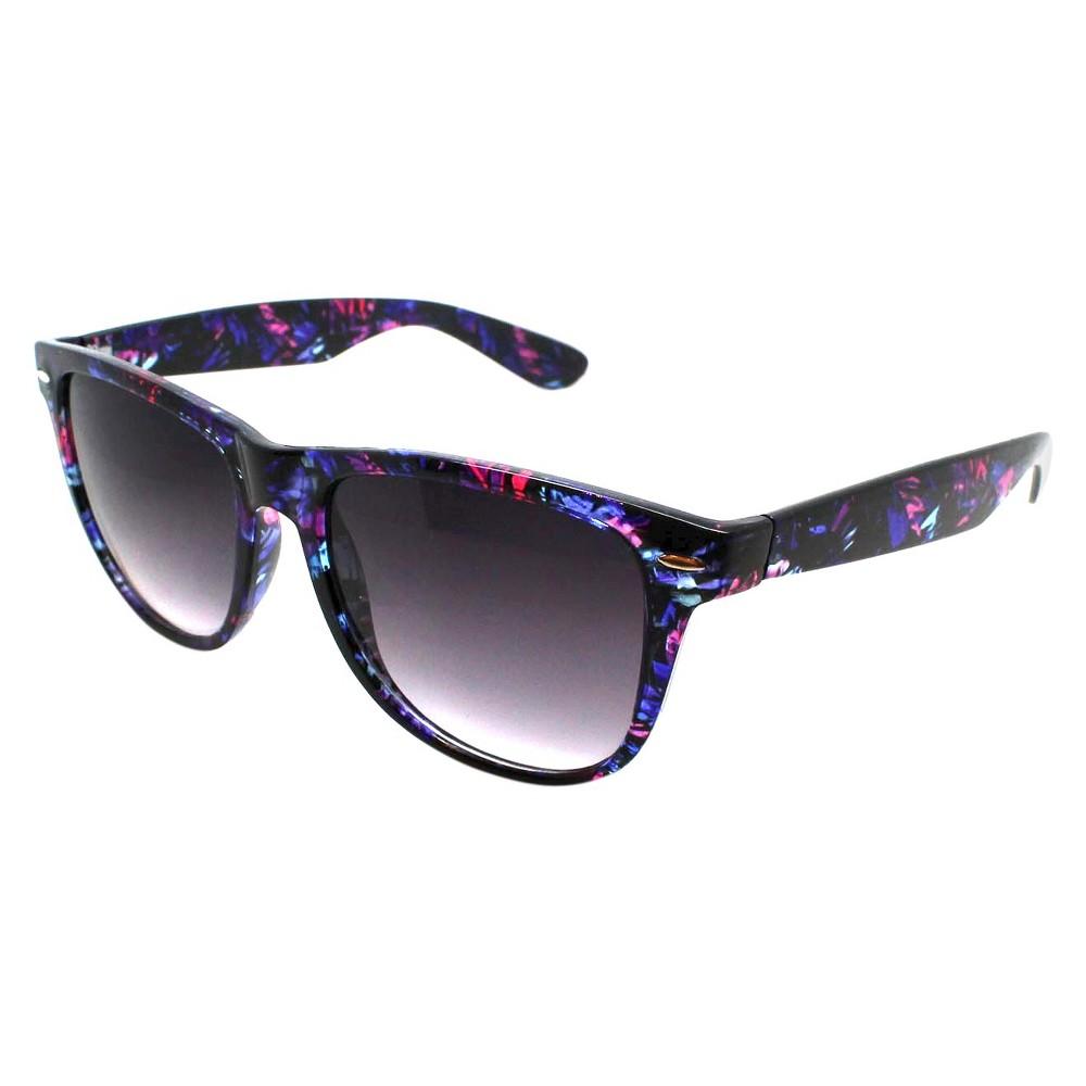 Womens Surfer Shade Sunglasses, Multi-Colored