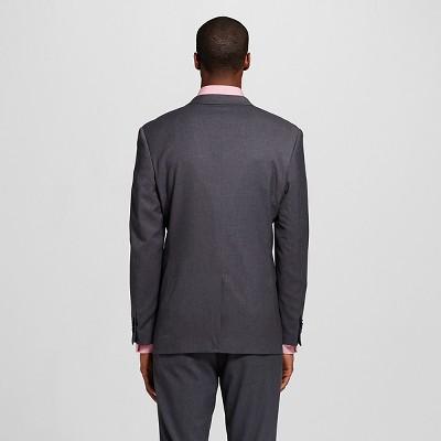 Men's Classic Fit Suit Jacket Gray - Merona, Size: XL