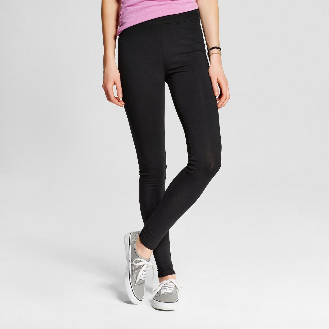 Women's Leggings - Mossimo Supply Co.™ Black - image 1 of 2