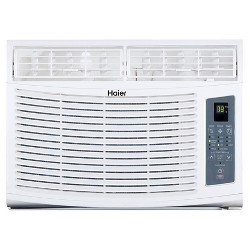 Haier - 10000-BTU Electronic Remote Control Air Conditioner - White