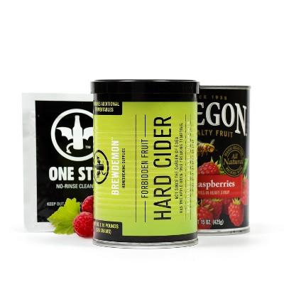 BrewDemon™ 2 Gallon Raspberry Hard Cider Recipe