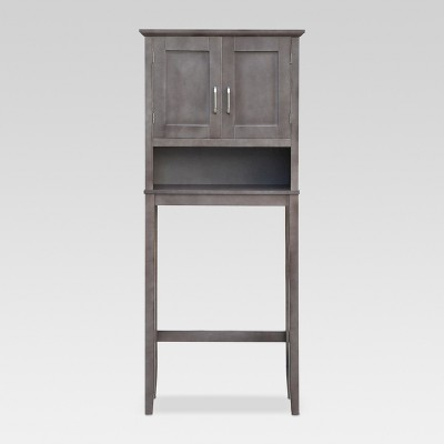 Wood Space Saver Etagere Gray - Threshold™