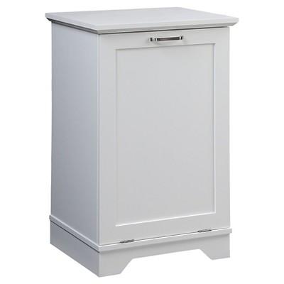Wood Hamper White - Threshold™