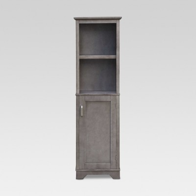 Wood Linen Tower Gray - Threshold™