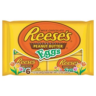 Reeses Peanut Butter Easter Eggs - 6ct/7.2oz