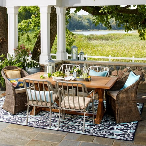 Morie 7pc Dining Set - Threshold™ - image 1 of 2