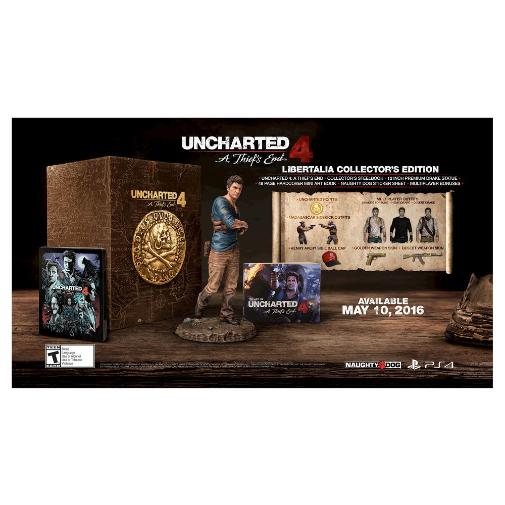 Uncharted 4: A Thief's End Libertalia Collector's Edition PlayStation 4