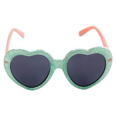 Toddler Girls' Hearts Sunglasses Blue - Circo™