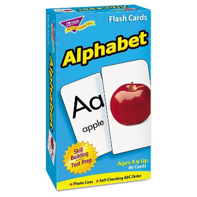 TREND Skill Drill Flash Cards, 3 x 6, Alphabet