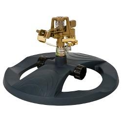 Metal Pulsating Sprinkler With Weighted Base - Black - Melnor