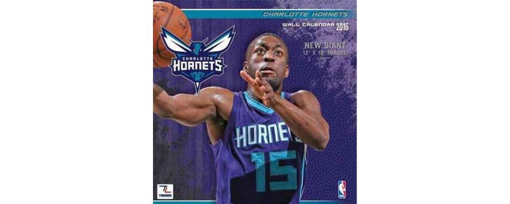 Charlotte Bobcats 2016 Calendar (Paperback)