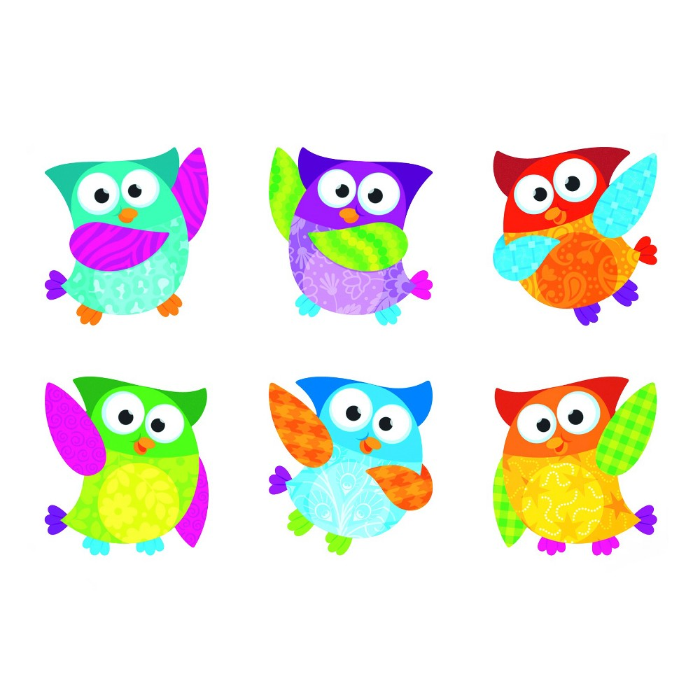 Trend Classic Accents Variety Pack, Owl-Stars, 6 x 7.88, Multi-Colored