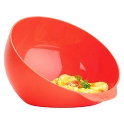 Joseph M Cuisine Microwave Omelet Bowl Orange
