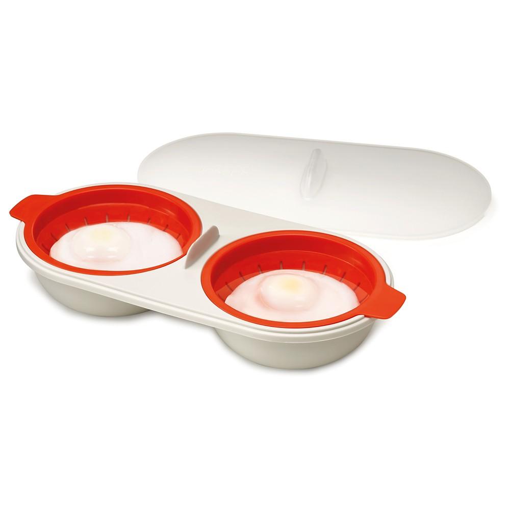 Joseph Joseph M-Cuisine Microwave Egg Poacher – Orange/St...