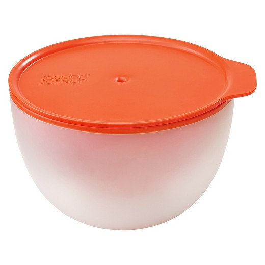 Joseph M Cuisine Microwave Cool Touch Bowl Orange Stone