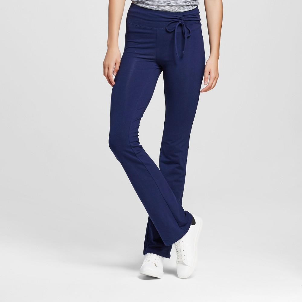 Women's Yoga Tie Waist Pants Oxford Blue XL- Mossimo Supply Co. (Juniors'), Size: XL