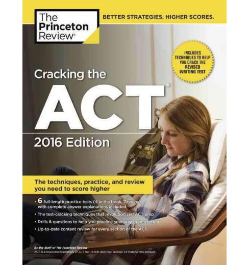 Princeton Review Cracking the ACT 2016 (Paperback) - image 1 of 1