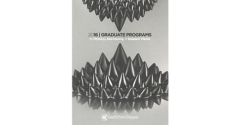 Graduate Programs in Physics, Astronomy and Related Fields 2016 (Paperback) - image 1 of 1