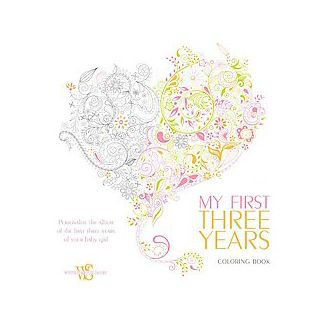My First Three Years Coloring Book Adult Personalize The Album Of
