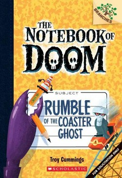 Rumble of the Coaster Ghost (Library) (Troy Cummings)
