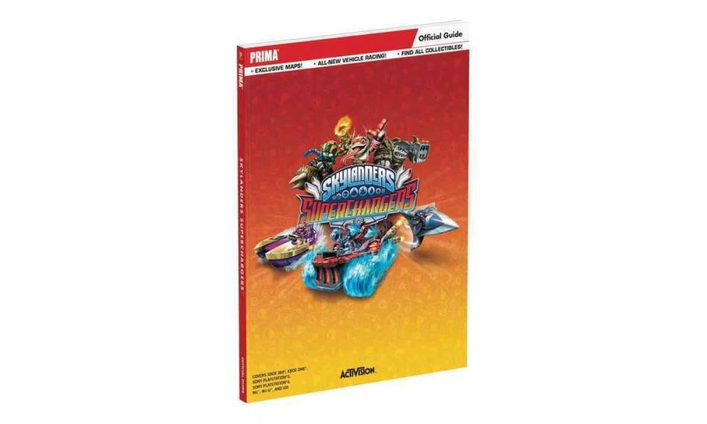Skylanders Superchargers Official Guide : Standard Edition (Paperback)