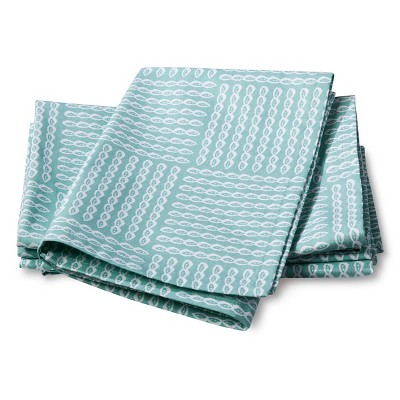 4pk Blue Stripe Napkin - Threshold™