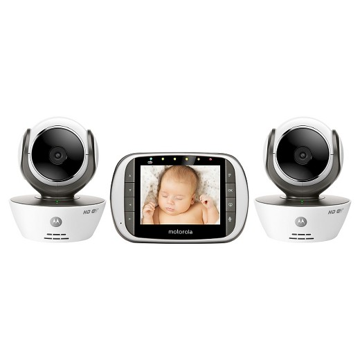 motorola wifi 3 5 video baby monitor with two cameras mbp853connect 2 target. Black Bedroom Furniture Sets. Home Design Ideas