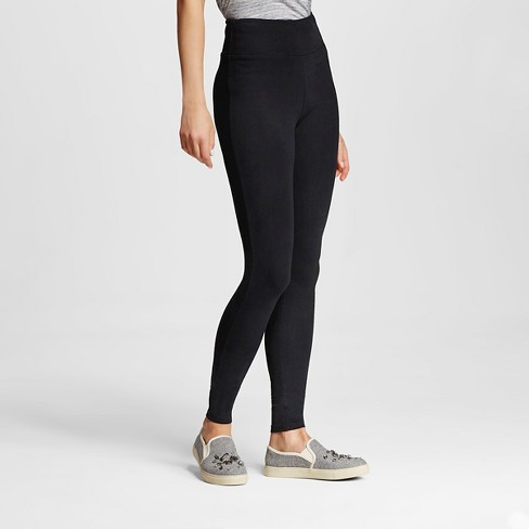 Women's High-Waisted Leggings - Mossimo Supply Co.™ Black - image 1 of 2